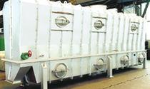 Essiccatore a letto fluido / continuo / per l'industria chimica / refrigeratore