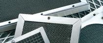 Griglia di ventilazione in alluminio / a nido d'ape / EMC