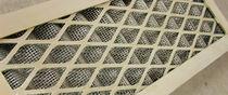 Griglia di ventilazione in alluminio / con filtri per polvere / EMC
