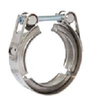 Fascetta stringitubo in acciaio zincato / con perno / robusta