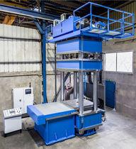 Pressa idraulica / di vulcanizzazione / a 4 colonne
