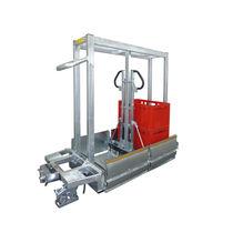 Carrello da trasporto / in acciaio galvanizzato / porta-contenitori