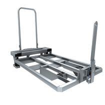 Carrello per movimentazione / da trasporto / in acciaio / a piattaforma