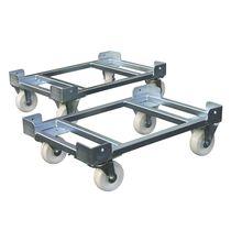 Carrello per movimentazione / in metallo / per contenitori Euro / per contenitore di stoccaggio