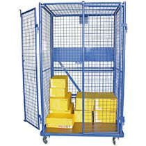 Roll-container in maglia metallica / incastrabile / bloccabile