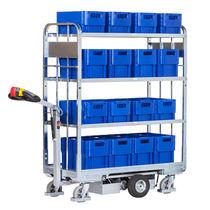 Roll-container per pacchi / a ripiani