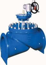 Valvola a globo / con volantini di chiusura / di regolazione / per l'acqua