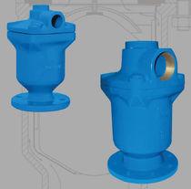 Valvola di distribuzione / per l'acqua / a comando pneumatico / a 2/3 vie
