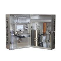 Storta in kit acqua e olio / ISO / in acciaio inossidabile / API