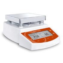 Agitatore di laboratorio magnetico / digitale / a piastra riscaldante / con display LCD