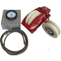 Torsiometro portatile / per tavola rotante / ad ago