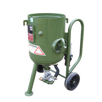 Granigliatrice manuale / per metallo / mobile / a 2 turbine