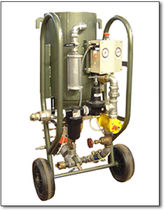 Granigliatrice manuale / per calcestruzzo / mobile