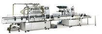 Riempitrice tappatrice lineare / centrifuga / per latticini / di bevande