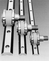 Guida lineare a rulli / in acciaio inossidabile / per carichi pesanti / a binario