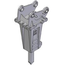 Martello picconatore idraulico / verticale / per caricatore leggero