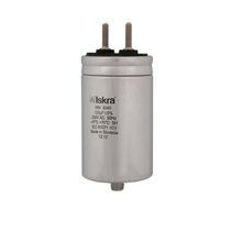 Condensatore a film di polipropilene metallizzato / cilindrico / ad innesto / di potenza