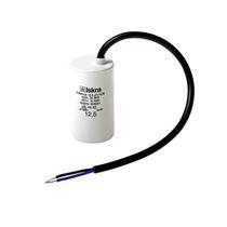 Condensatore a film di polipropilene metallizzato / cilindrico / da avvitare / AC