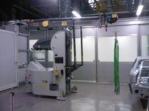 Gru elettroidraulica / mobile / per movimentazione di stampi / leggera