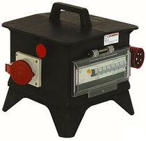 Scatola elettrica attrezzata / portatile / in plastica / da esterno
