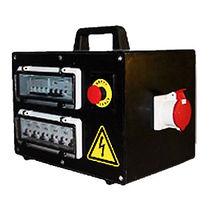Scatola elettrica attrezzata / portatile / in gomma / per cantiere