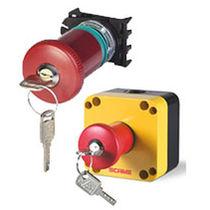 Interruttore a chiave / a fungo / unipolare / di arresto di emergenza