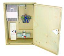 Armadio di misurazione elettrica / a parete / a porte battenti / in poliestere