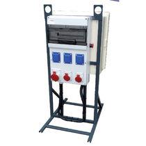 Scatola elettrica attrezzata / portatile / in plastica / per cantiere