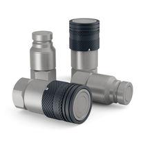 Raccordo rapido / dritto / idraulico / in acciaio