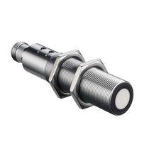 Sensore di distanza cilindrico / ad ultrasuoni / a uscita analogica / a basso ingombro