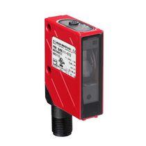 Sensore fotoelettrico retroriflettente polarizzato / rettangolare / LED / luce rossa