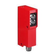 Sensore fotoelettrico antideflagrante / con soppressione di sfondo / a riflessione diretta / retroriflettente polarizzato