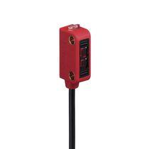Sensore fotoelettrico a barriera / rettangolare / LED / luce rossa