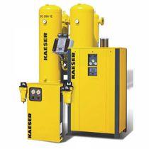 Essiccatore per aria compressa con adsorbimento senza calore / bassa pressione