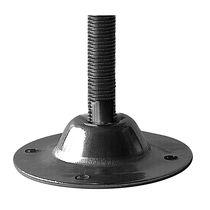Piede di macchina / in acciaio inossidabile / fisso / filettato