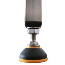 Piede in acciaio inossidabile / in poliammide / in elastomero / antiscivolo