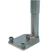 Piede di macchina / in acciaio inossidabile / di livellamento / per fissaggio a terra