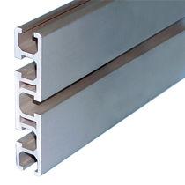 Profilato in alluminio / con scanalature / per carterizzazione