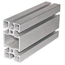 Profilato in alluminio / con scanalature / chiuso / aperto