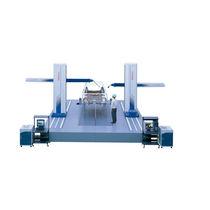 Macchina di misura a coordinate a doppio braccio orizzontale / a sensore multiplo / su cuscinetto pneumostatico / per grandi pezzi