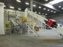 Impianto di lavaggio termico / in ambiente acquoso / a getto d'acqua mobile / automatico