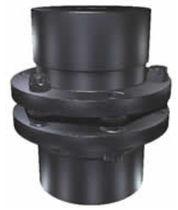 Giunto rigido in torsione / ad uso industriale / in acciaio inox / con flangia