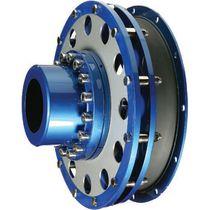 Giunto flessibile / per applicazioni marine / per motore diesel / con flangia
