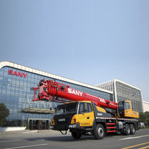 Gru montata su camion / mobile / telescopica / per cantiere di costruzione