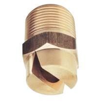 Ugello di polverizzazione / a getto piatto / per liquidi / in acciaio inossidabile