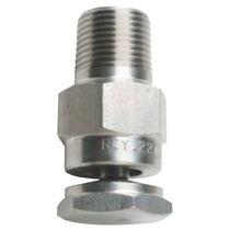 Ugello di polverizzazione / a cono vuoto / ad acqua / in acciaio inossidabile