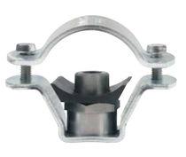 Fascetta stringitubo in acciaio inossidabile / a bullone