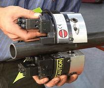 Smussatrice elettrica / pneumatica / portatile / per estremità di tubi