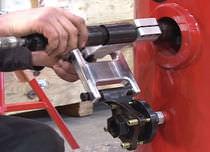 Smerigliatrice pneumatica / di precisione / dritta