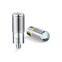 Sensore di distanza cilindrico / laser di misura del tempo di volo / rinforzato / compatto